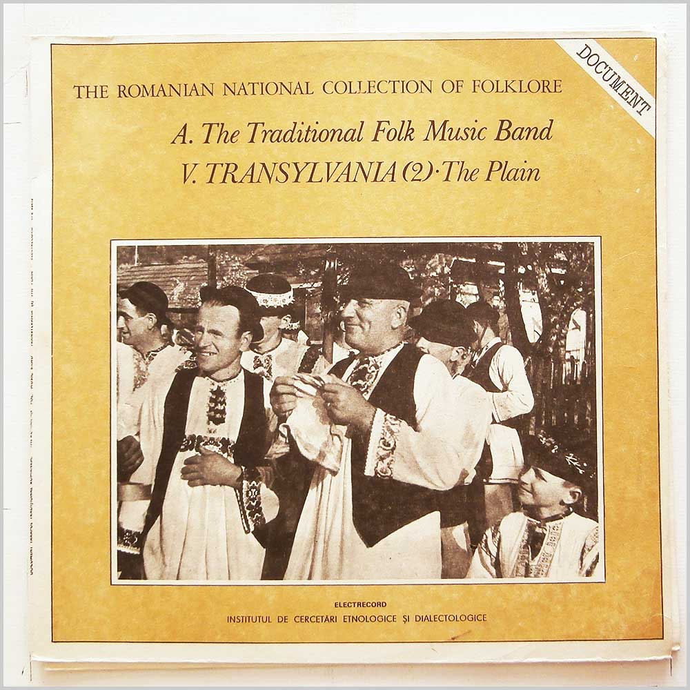 Various - The Traditional Folk Music Band: V. Transylvania (2) The Plain (EPE 02412)