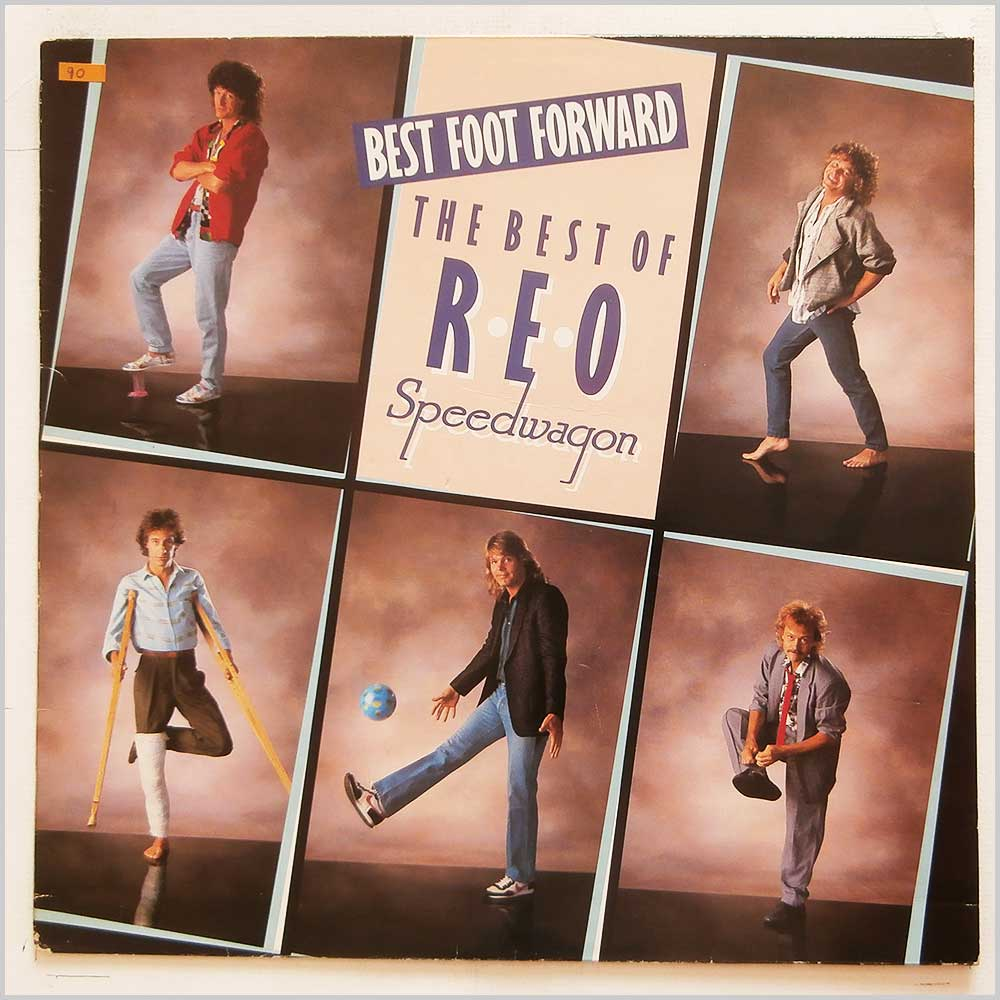REO Speedwagon - Best Foot Forward: The Best Of REO Speedwagon (EPIC 26640)