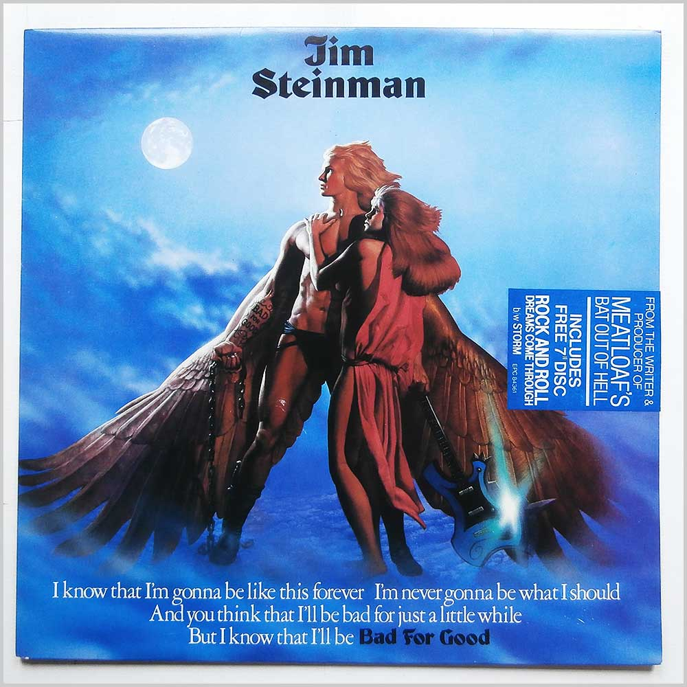 Jim Steinman - Bad For Good (EPIC 84361)