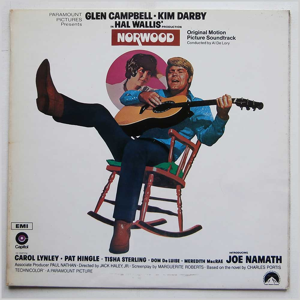 Glen Campbell - Norwood-Original Sountrack Featuring Glen Campbell (E-SW 475)