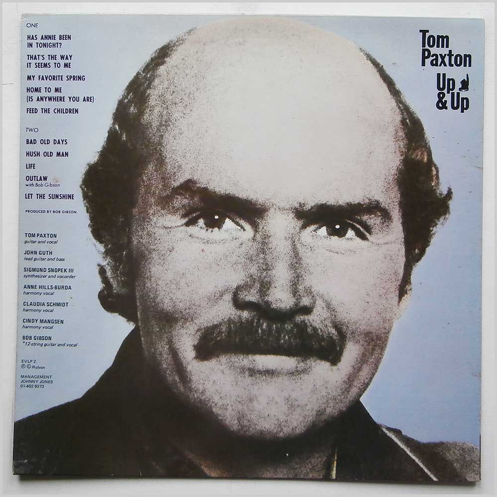 Tom Paxton - Up and Up (EVLP2)