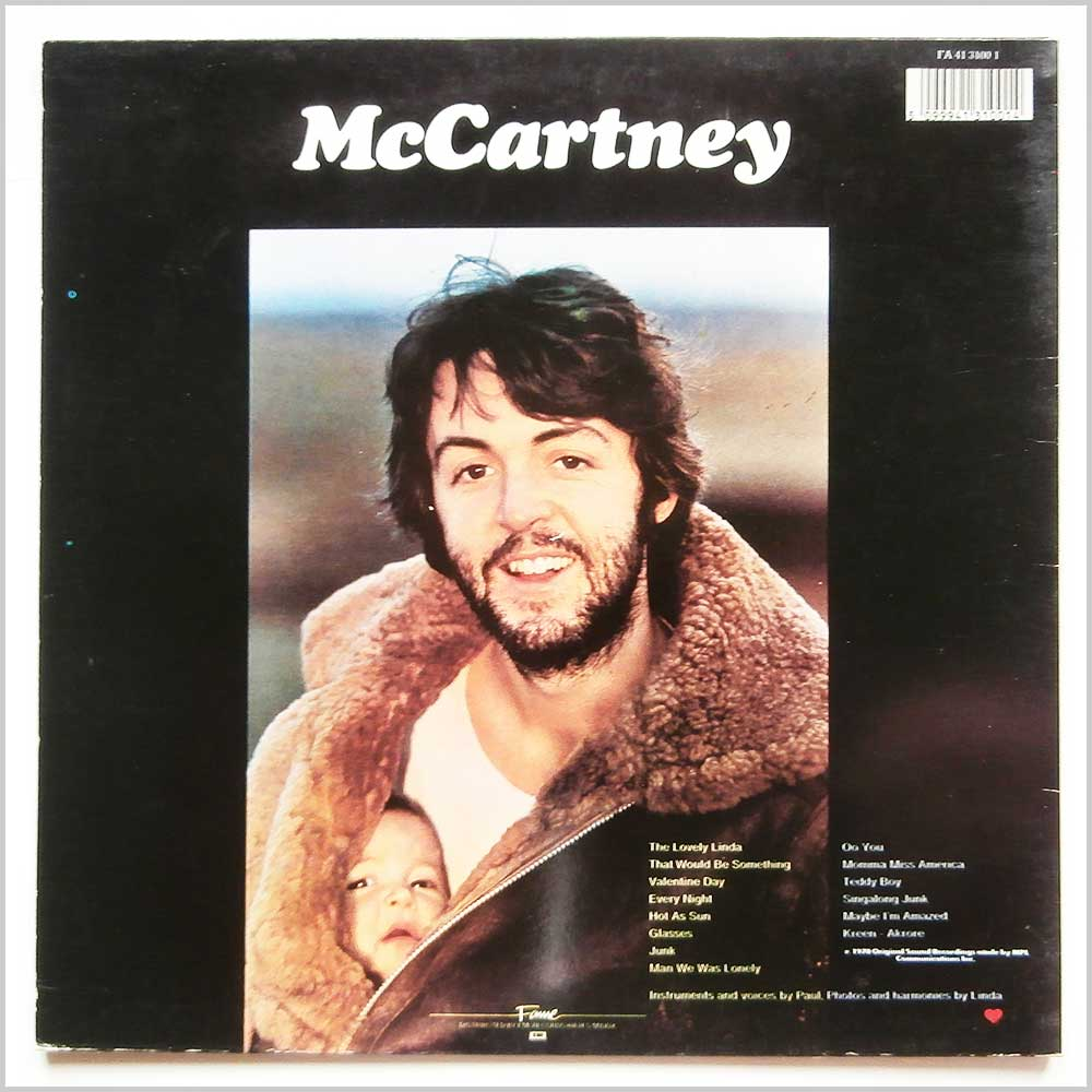 Paul McCartney - McCartney (FA 41 3100 1)