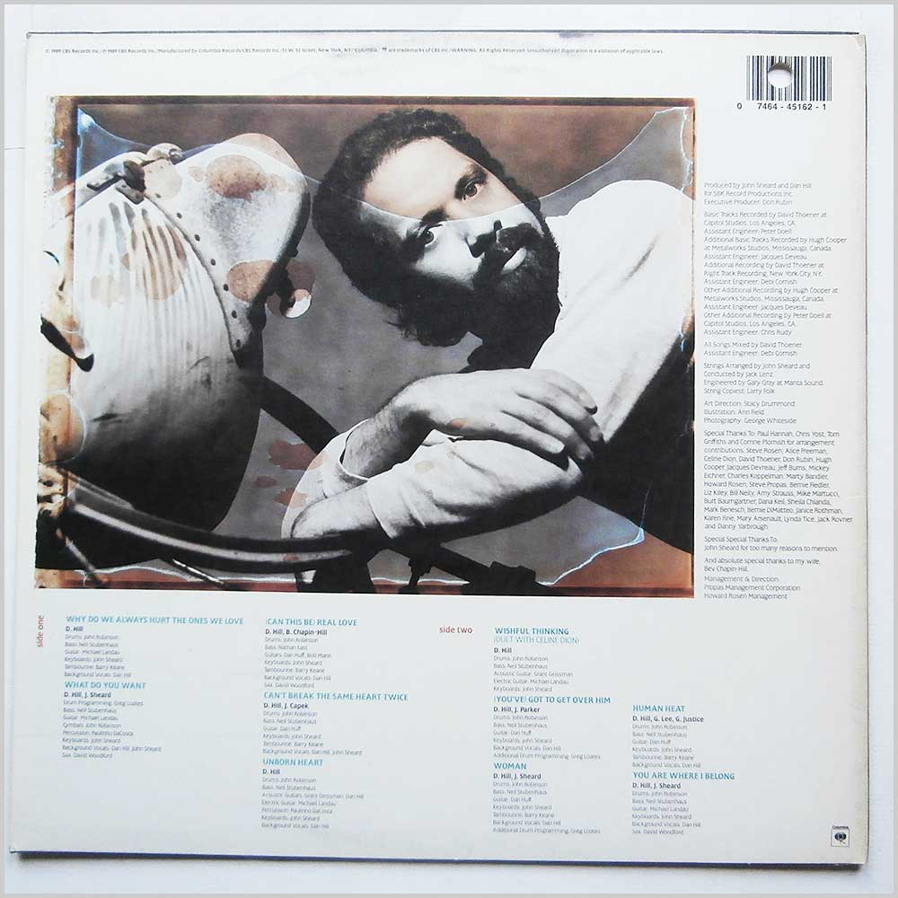 Dan Hill - Real Love (FC 45162)