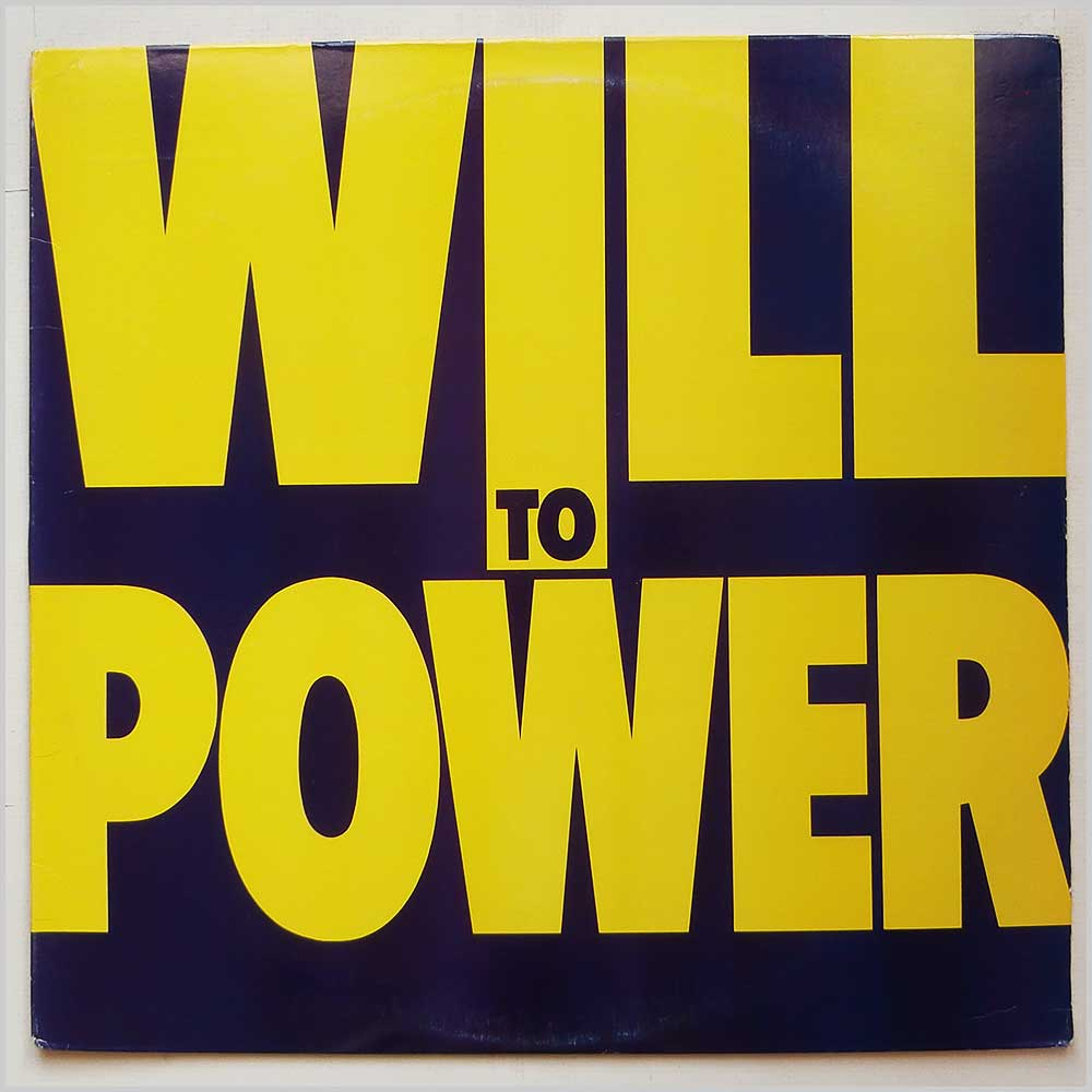 Will To Power - Will To Power (FE 40940)