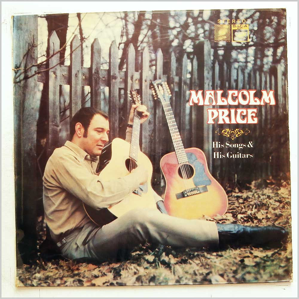 Malcolm Price - His Songs And His Guitars (FID 2156)
