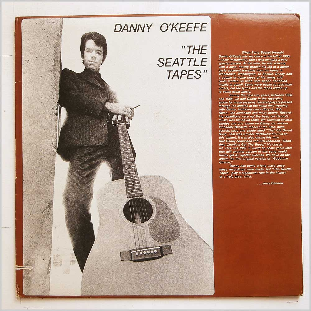 Danny O'Keefe - The Seattle Tapes (FIRST AMERICAN 7700)