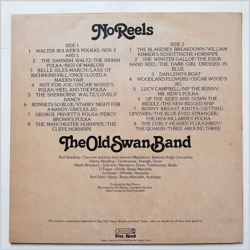 The Old Swan Band - No Reels (FRR 011)