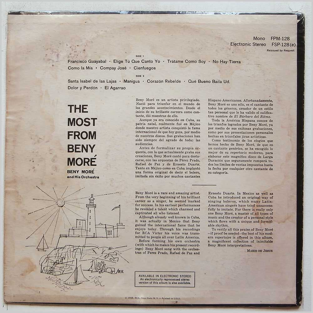 Beny More - The Most From Beny More (FSP-128 (E))