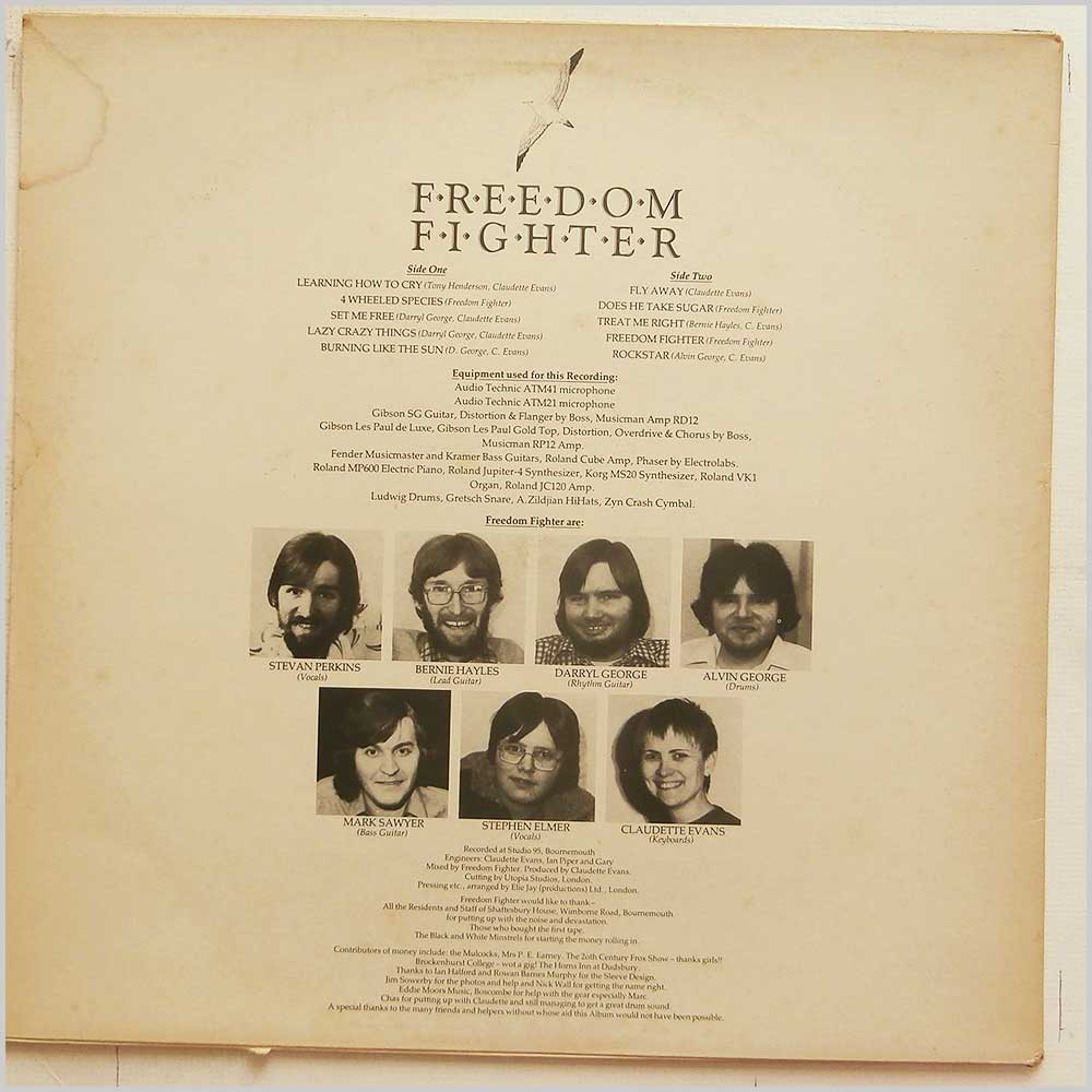 Freedom Fighter - Freedom Fighter Lives Forever (FST 95001)