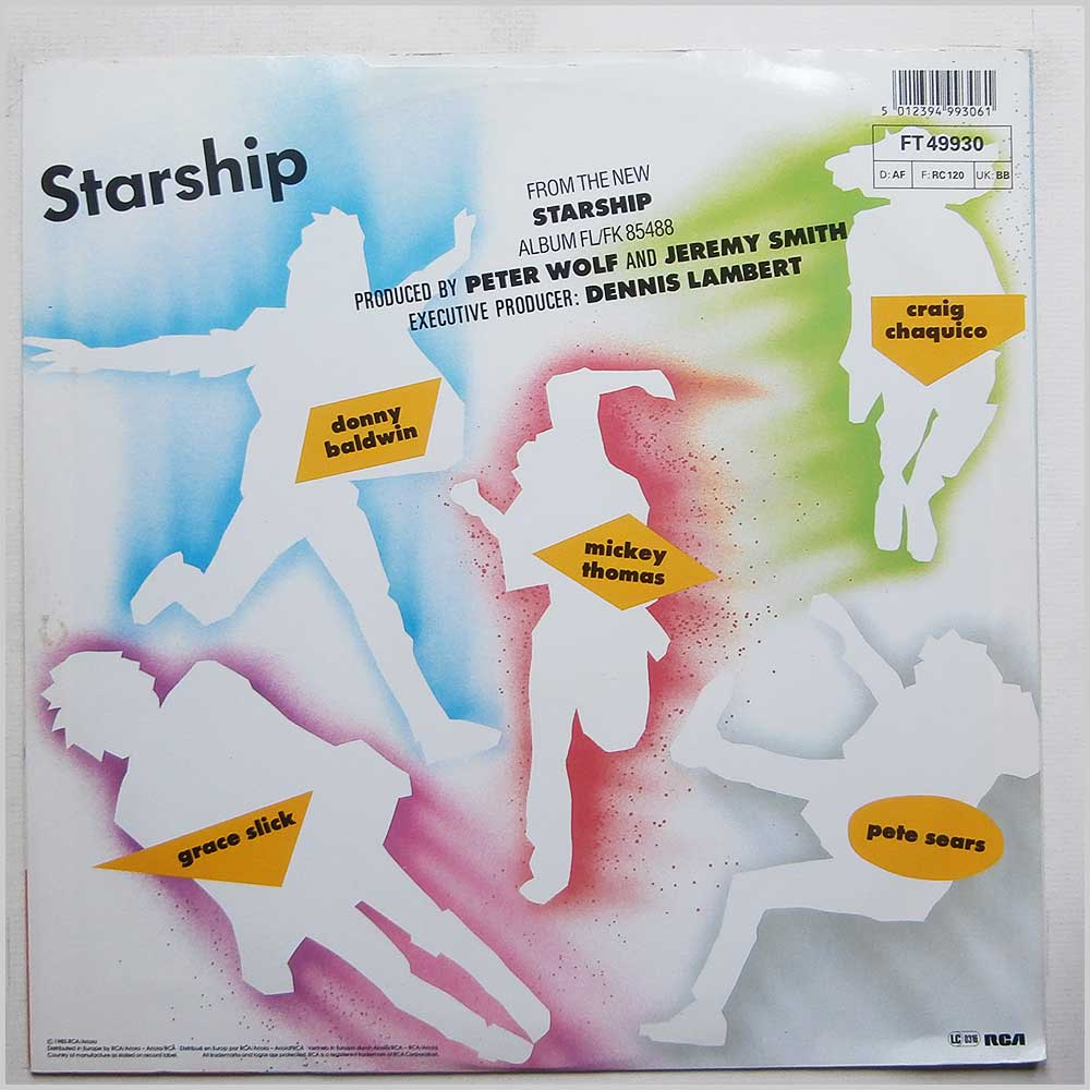 Starship - We Built This City (FT 49930)