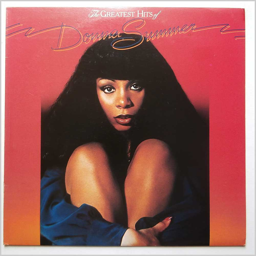 Donna Summer - The Greatest Hits Of Donna Summer (GTLP 028)