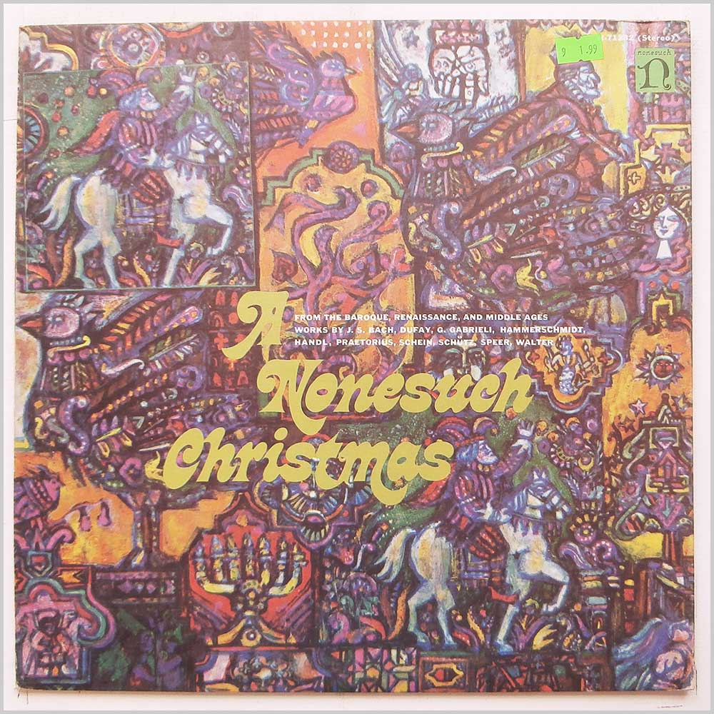 Konrad Ruhland, Capella Antiqua Munich - A Nonesuch Christmas From the Baroque, Renaissance, and Middle Ages (H-71232)