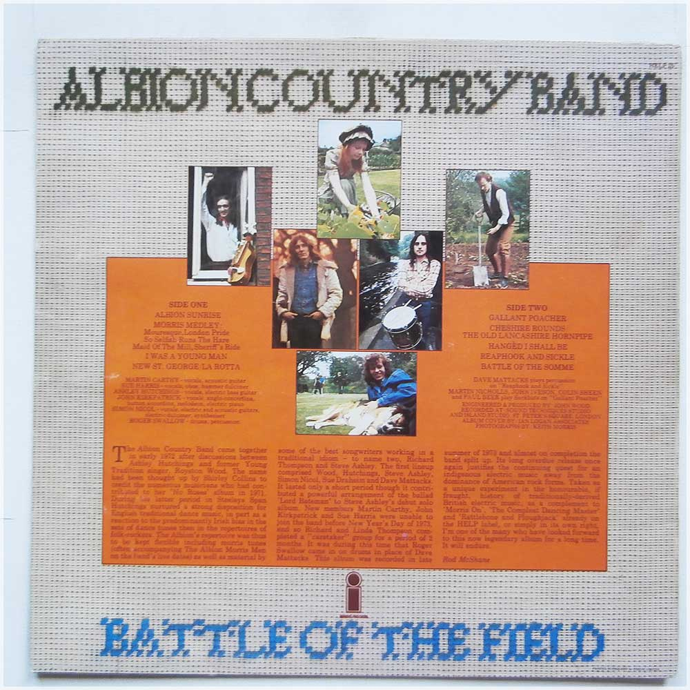 Albion Country Band - Battle Of The Field (HELP 25)