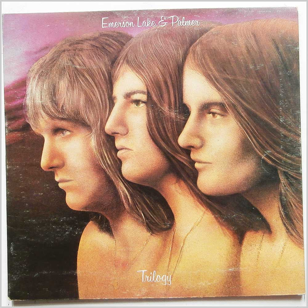 Emerson Lake And Palmer - Trilogy (ILPS 9186)