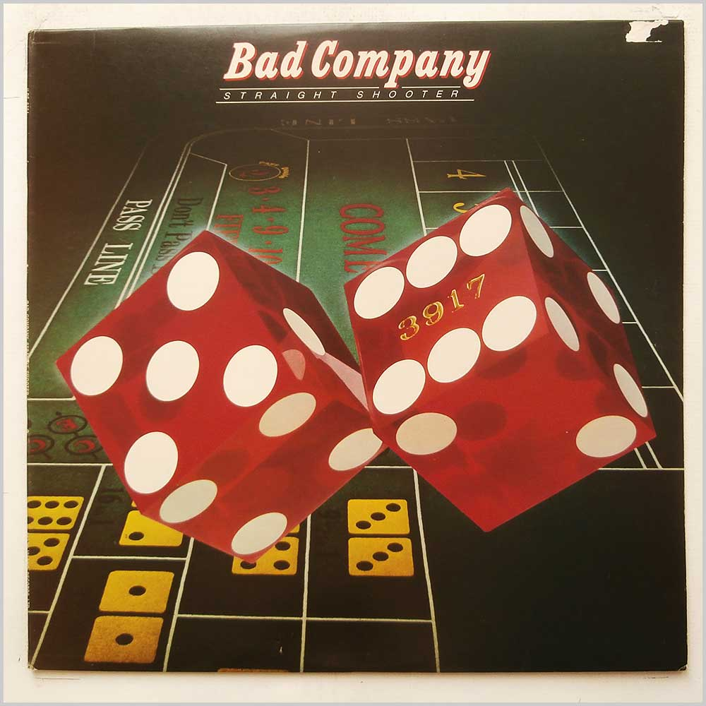 Bad Company - Straight Shooter (ILPS 9304)