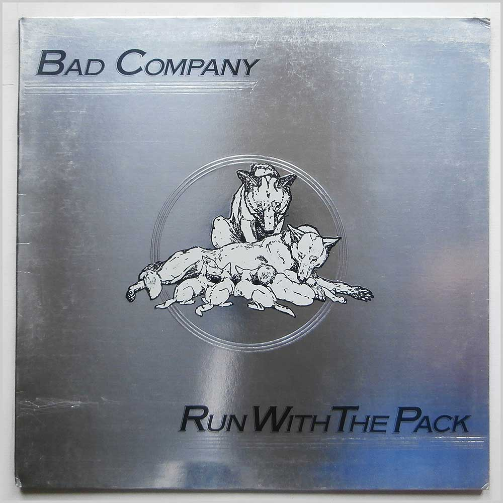 Bad Company - Run With The Pack (ILPS 9346)