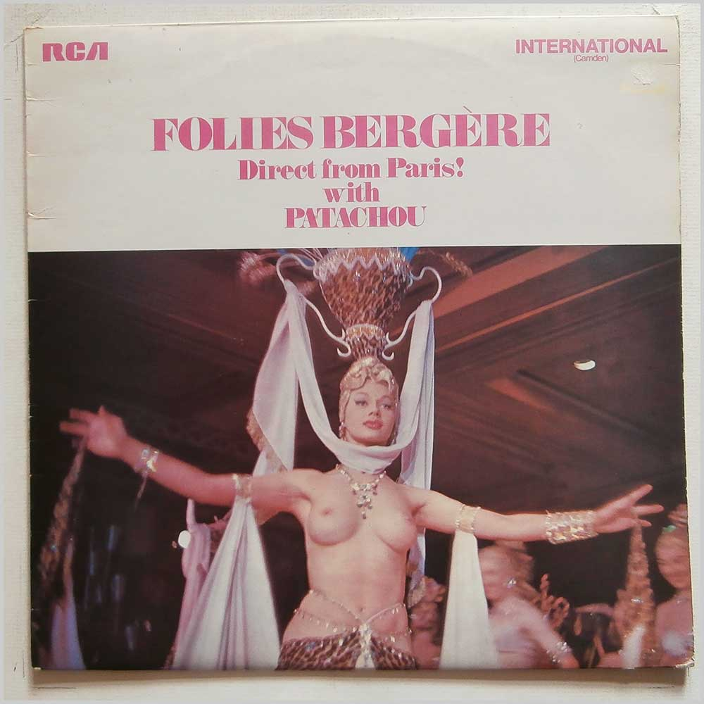 Patachou, Georges Ulmer Orchestra Conducted By Jo Basile - Folies Bergere Direct From Paris! (INTS 1069)
