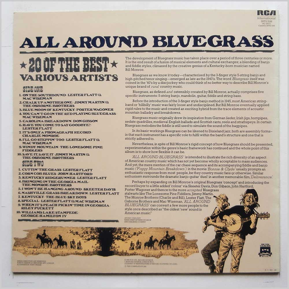 Various - All Around Bluegrass: 20 Of The Best (INTS 5188)