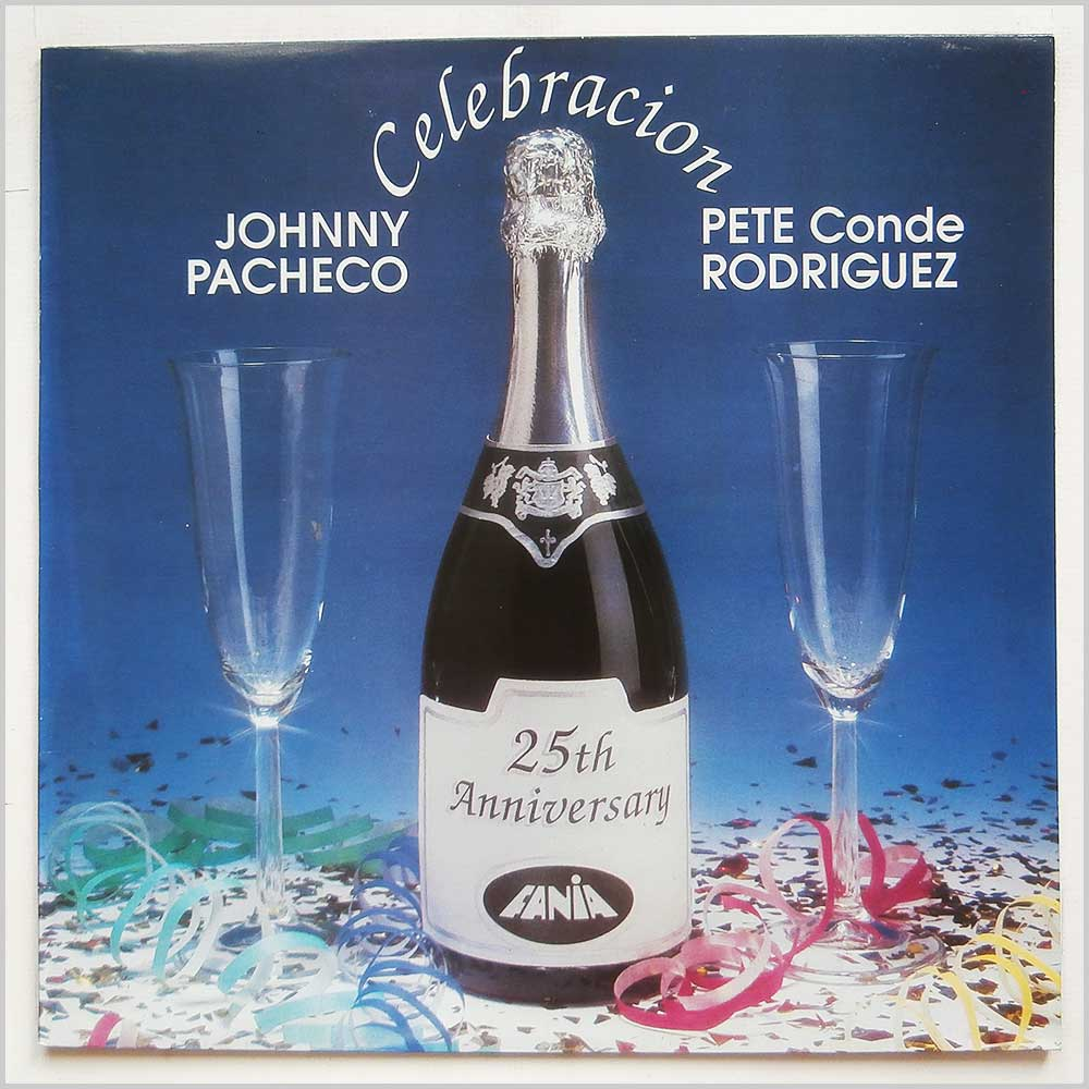 JOHNNY PACHECO AND PETE CONDE RODRIGUEZ - Celebracion - LP