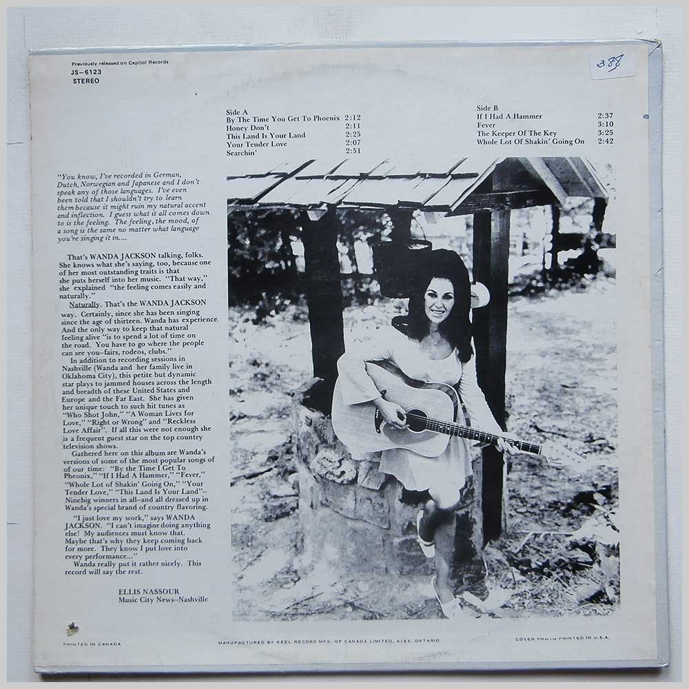 Wanda Jackson - By The Time I Get To Pheonix (JS-6123)