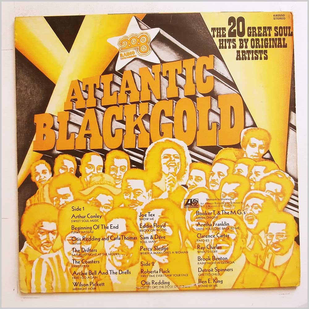 Various - Atlantic Black Gold; The 20 Great Soul Hits By Original Artists (K 40550)
