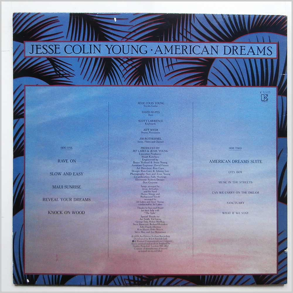 Jesse Colin Young - American Dreams (K 52105)