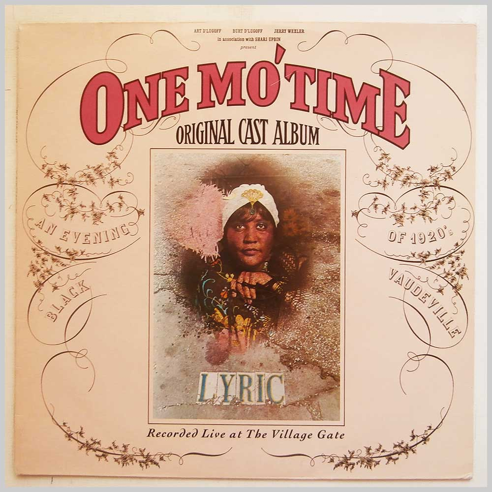 Various - One Mo' Time (Original Cast Album Live At The Village Gate) (K 56850)
