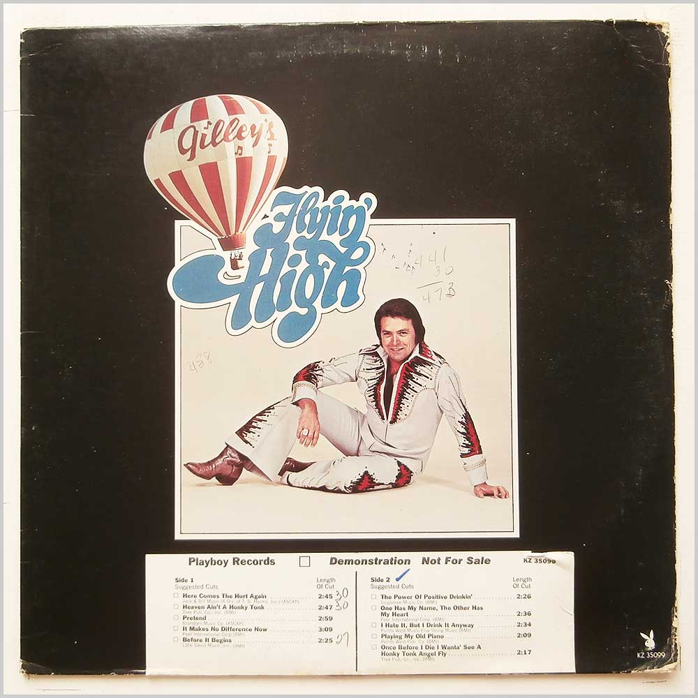 Mickey Gilley - Flyin' High (K7 35099)