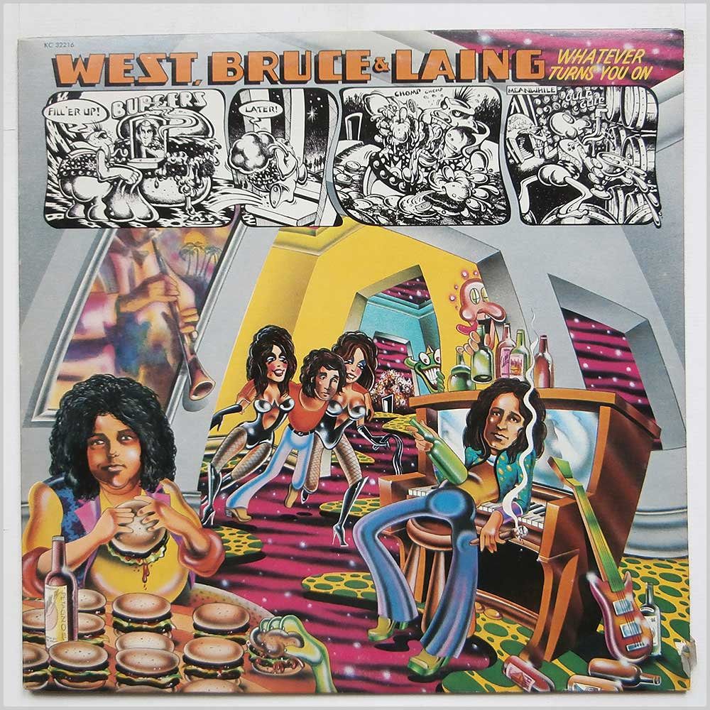 West, Bruce And Laing - Whatever Turns You On (KC 32216)