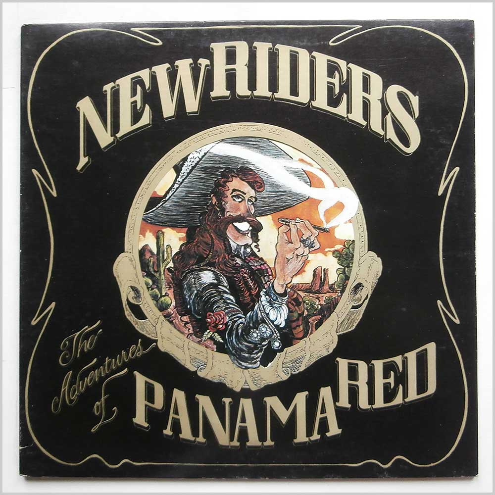 New Riders Of The Purple Sage - The Adventures Of Panama Red (KC 32450)