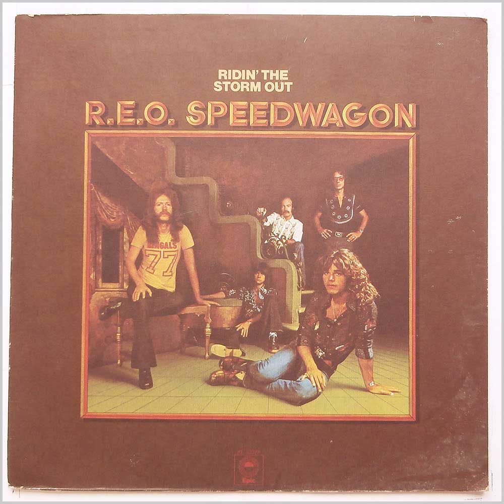 R.E.O. Speedwagon - Ridin' The Storm Out (KE 32378)