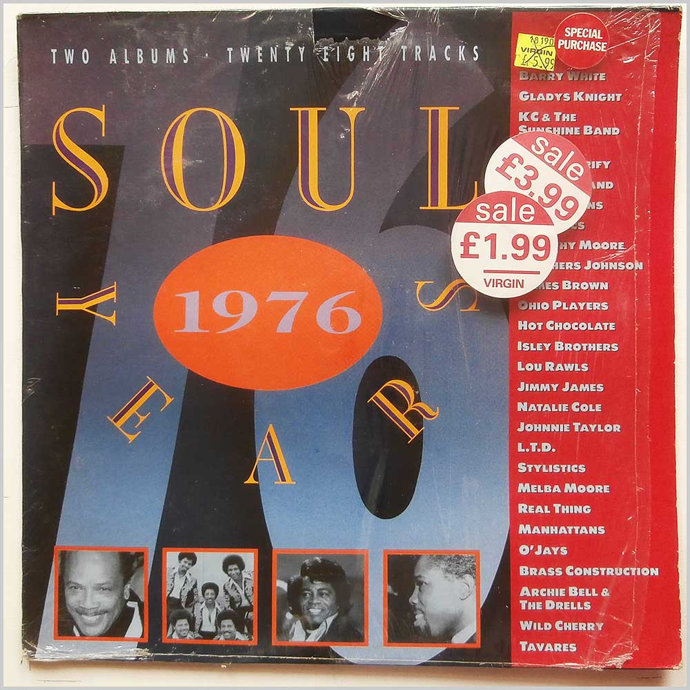 Various - Soul Years 1976 (KNLP 22076)