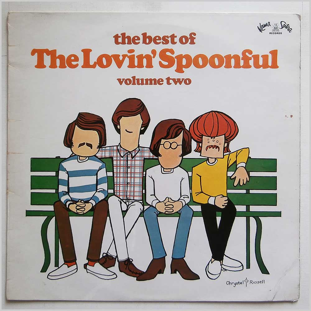 The Lovin' Spoonful - The Best Of The Lovin' Spoonful-Volume Two (KSLP 405)