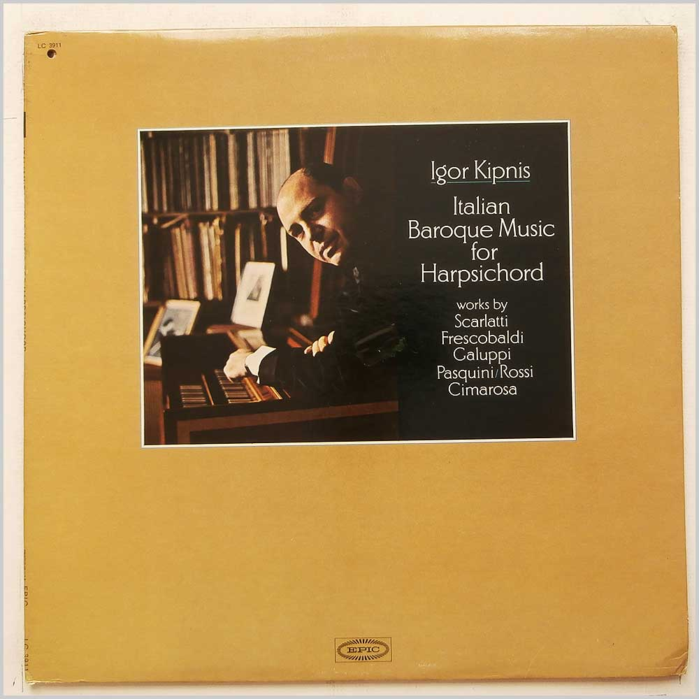Igor Kipnis - Italian Music For The Harpsichord (LC 3911)