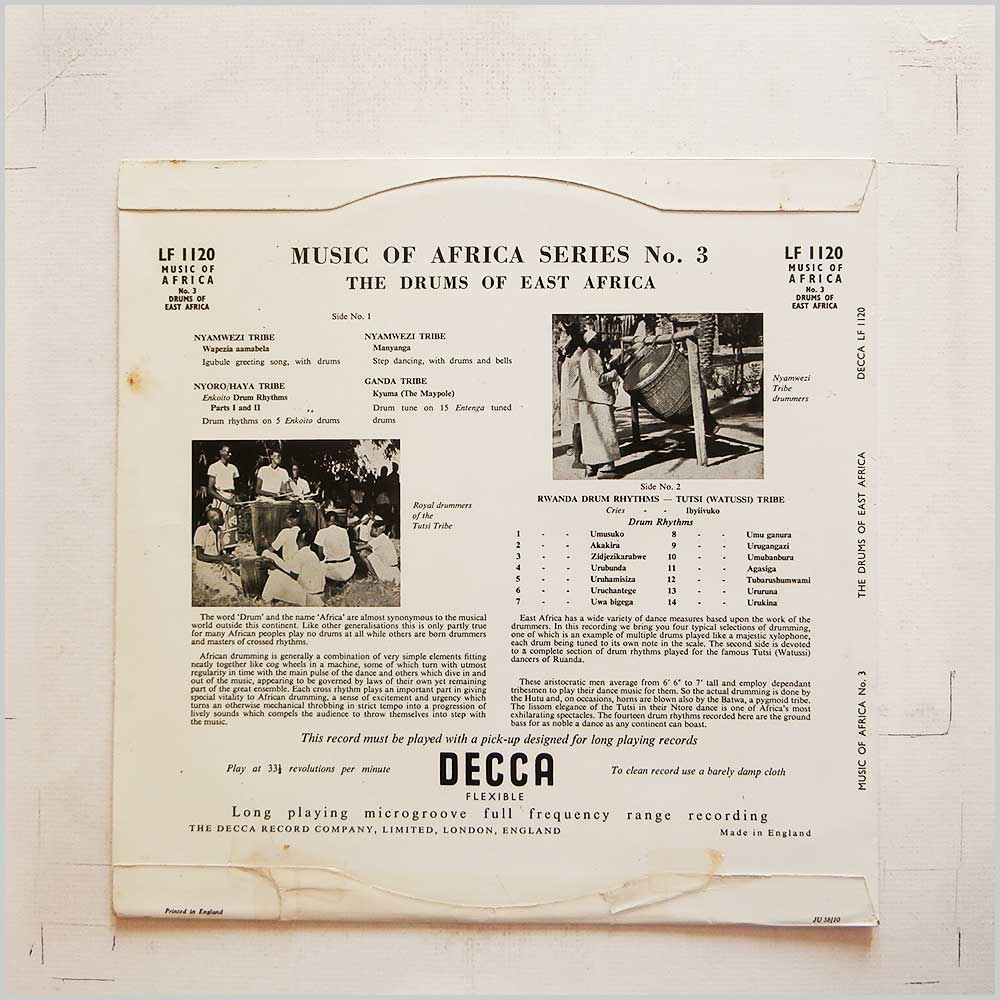 African African Music Record LP for sale - RecordsMerchant