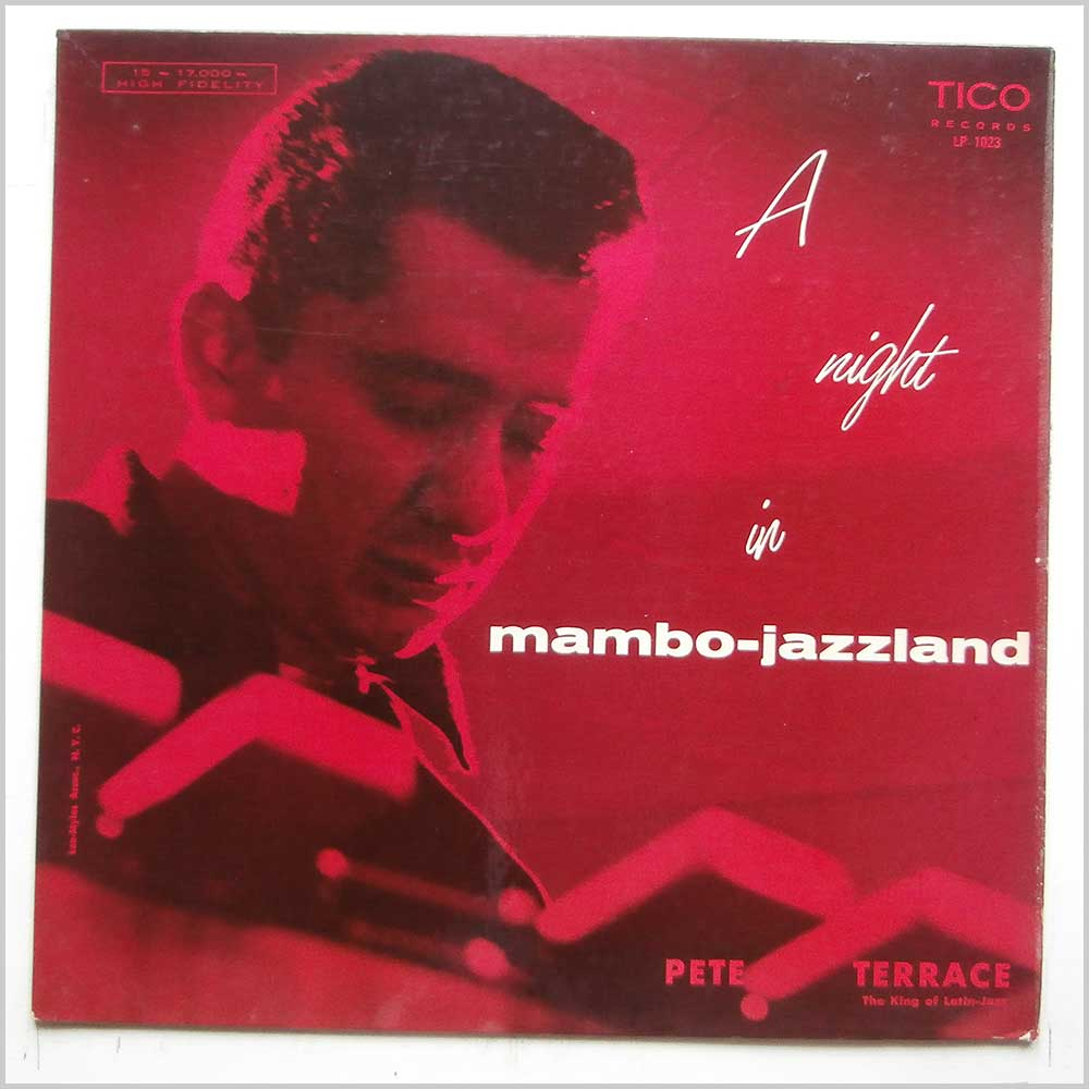 Pete Terrace - A Night In Mambo Jazzland (LP 1023)