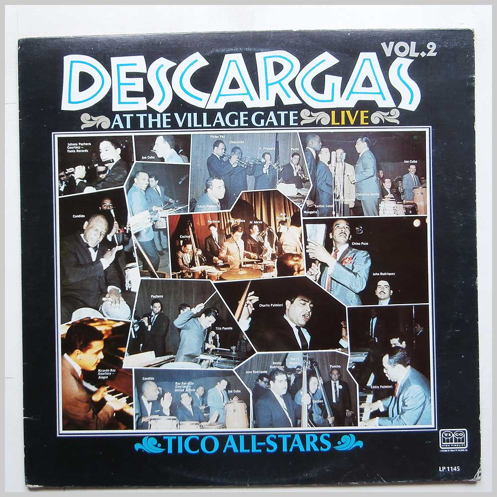 Various - Descargas At The Village Gate Live Vol. 2 (LP 1145)