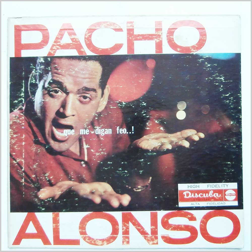 Pacho Alonso Vinyl Record Cuban Music LP Latin and Salsa Music