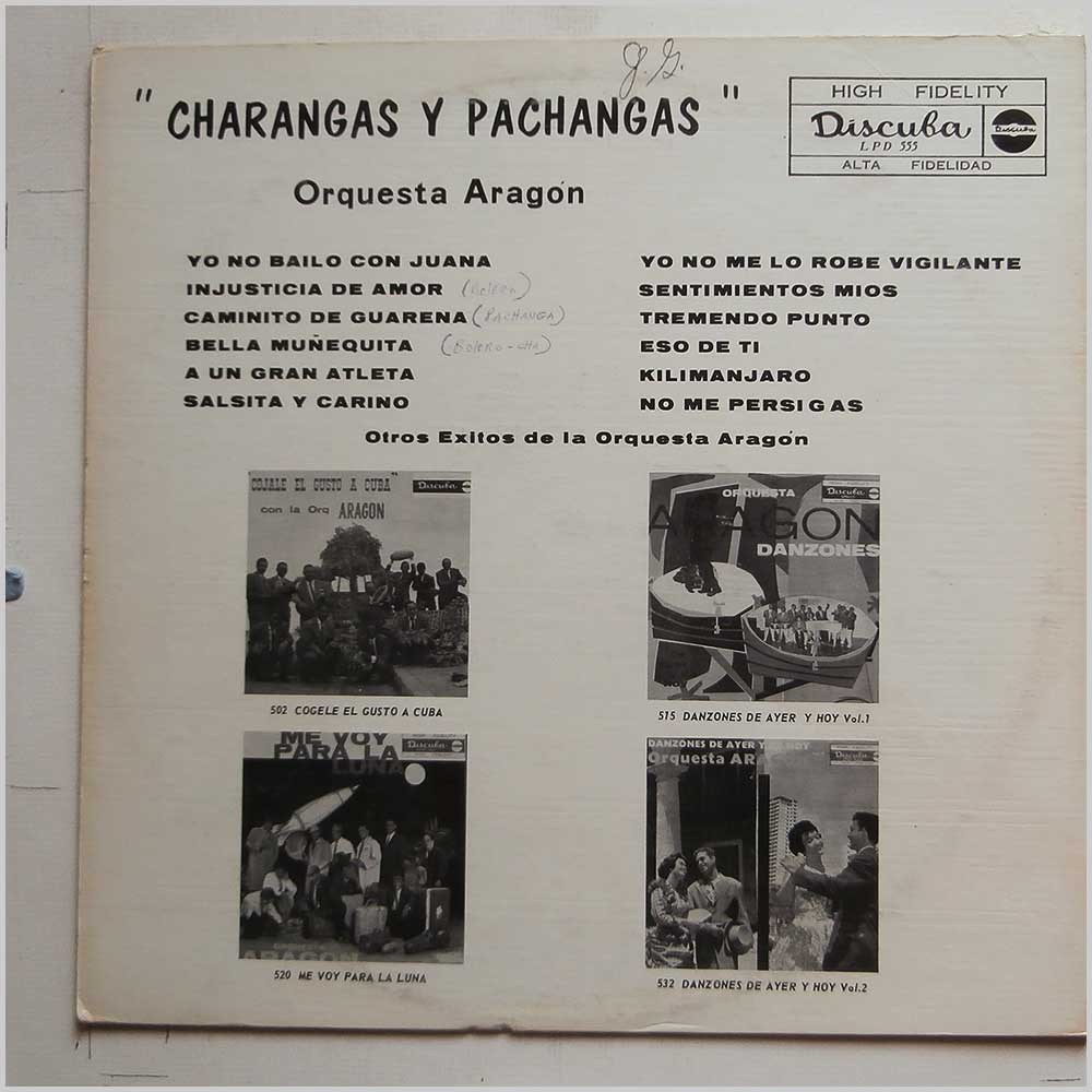 Cuban Latin and Salsa Music Record LP for sale