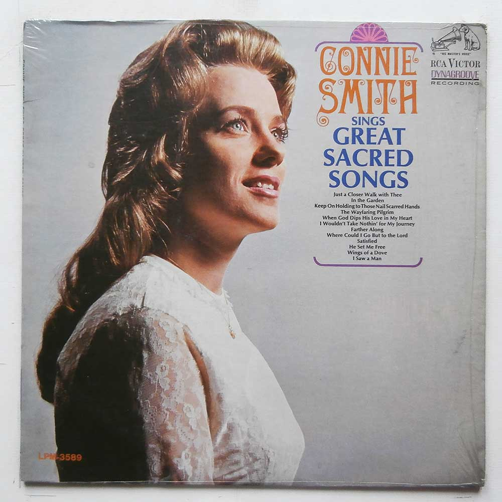 Connie Smith - Connie Smith Sings Great Sacred Songs (LPM-3589)