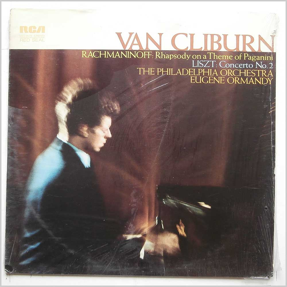 Van Cliburn - Rachmaninoff: Rhapsody On A Them Of Paganini, Liszt: Concerto No. 2 (LSC-3179)