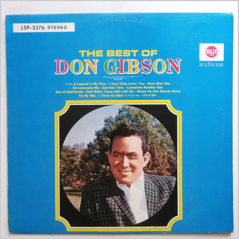 Don Gibson - The Best Of Don Gibson (LSP-3376)