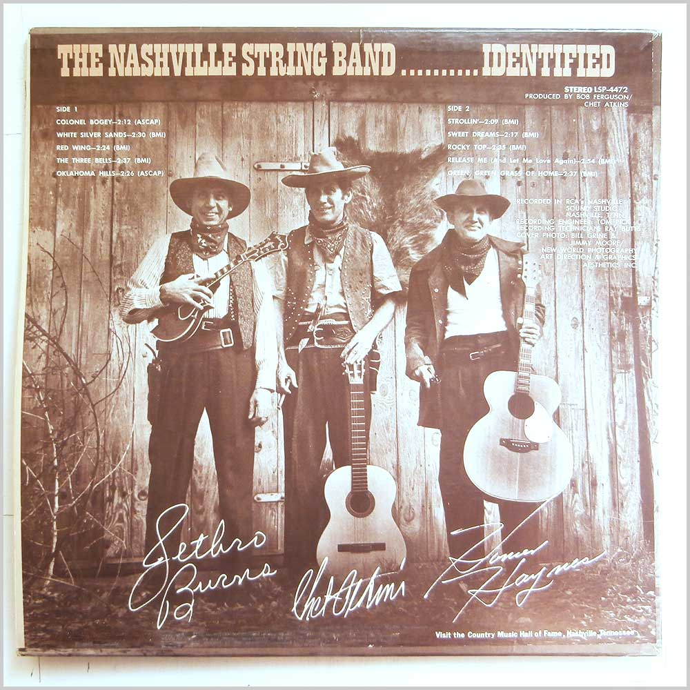 The Nashville String Band - Identified! (LSP-4472)