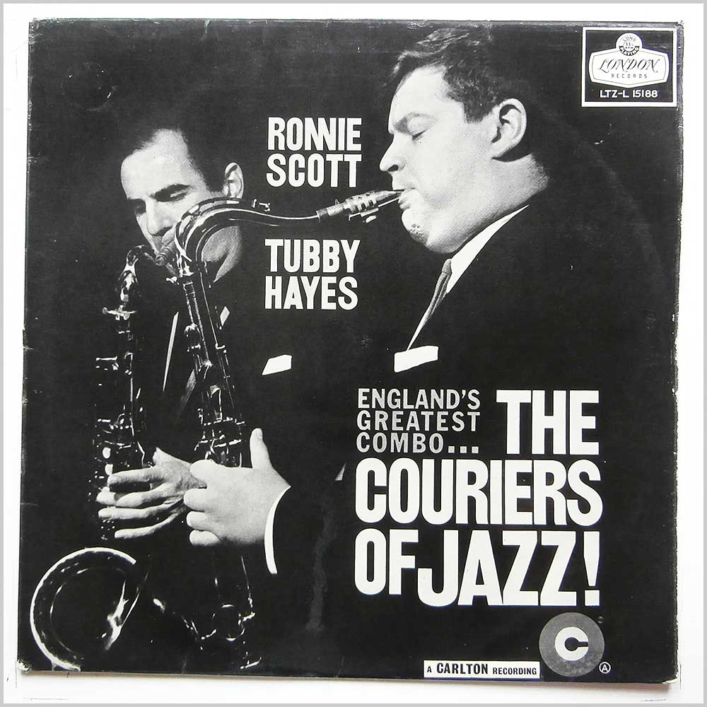 Ronny Scott, Tubby Hayes - The Couriers Of Jazz (LTZ-L 15188)