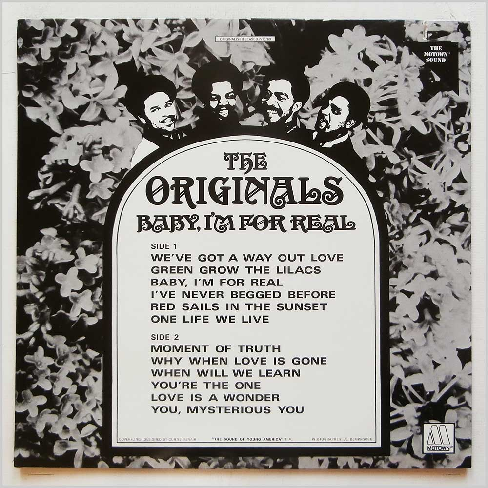 The Originals - Baby I'm For Real (M5-137V1)