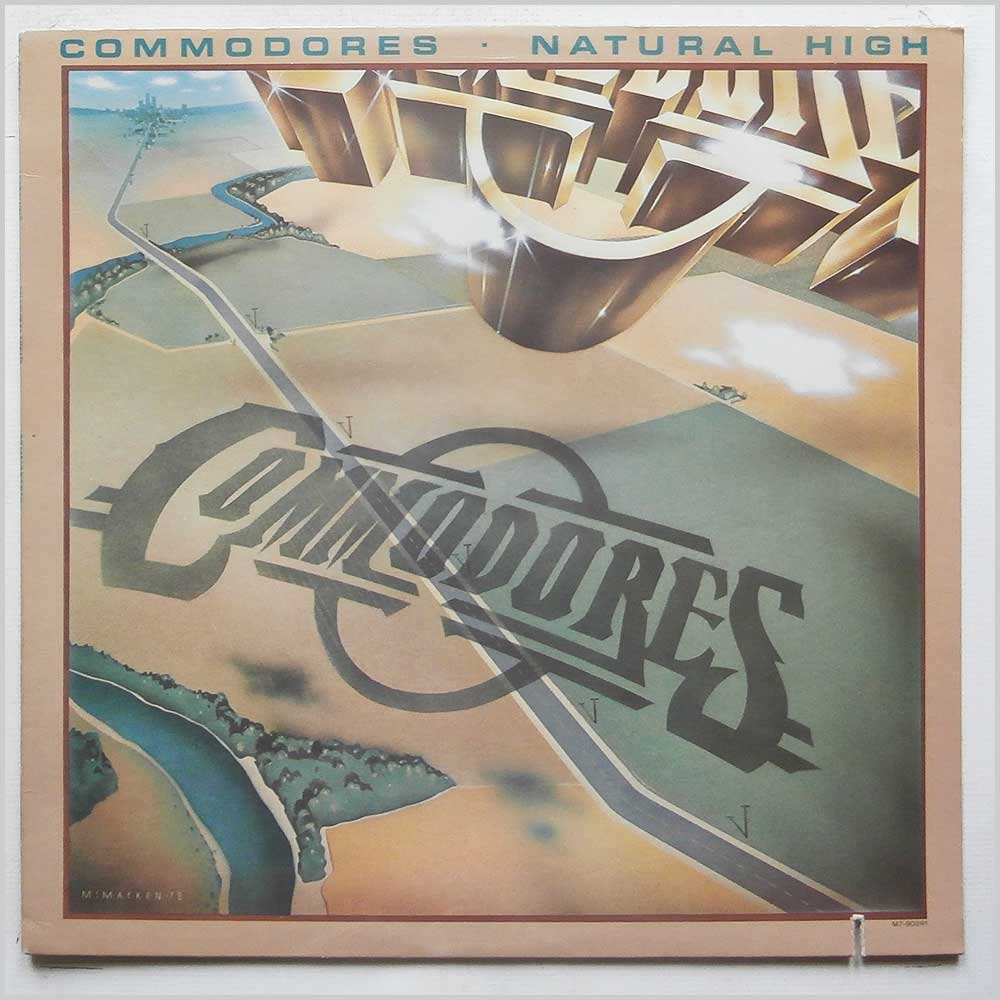 Commodores - Natural High (M7-902R1)