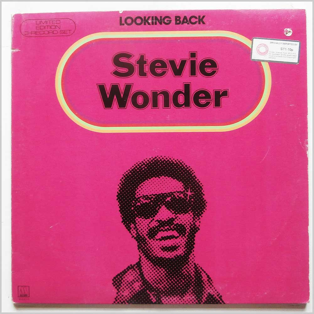 Stevie Wonder - Looking Back (M-804LP)