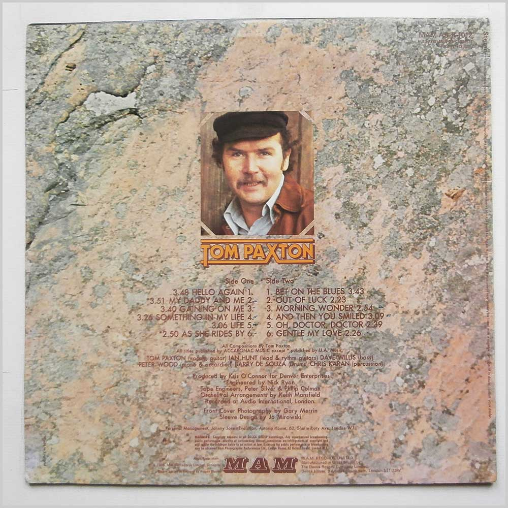 Tom Paxton - Something In My Life (MAM AS-R 1012)