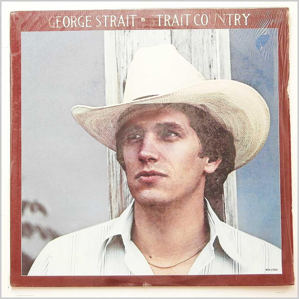 George Strait - Strait Country (MCA-27092)