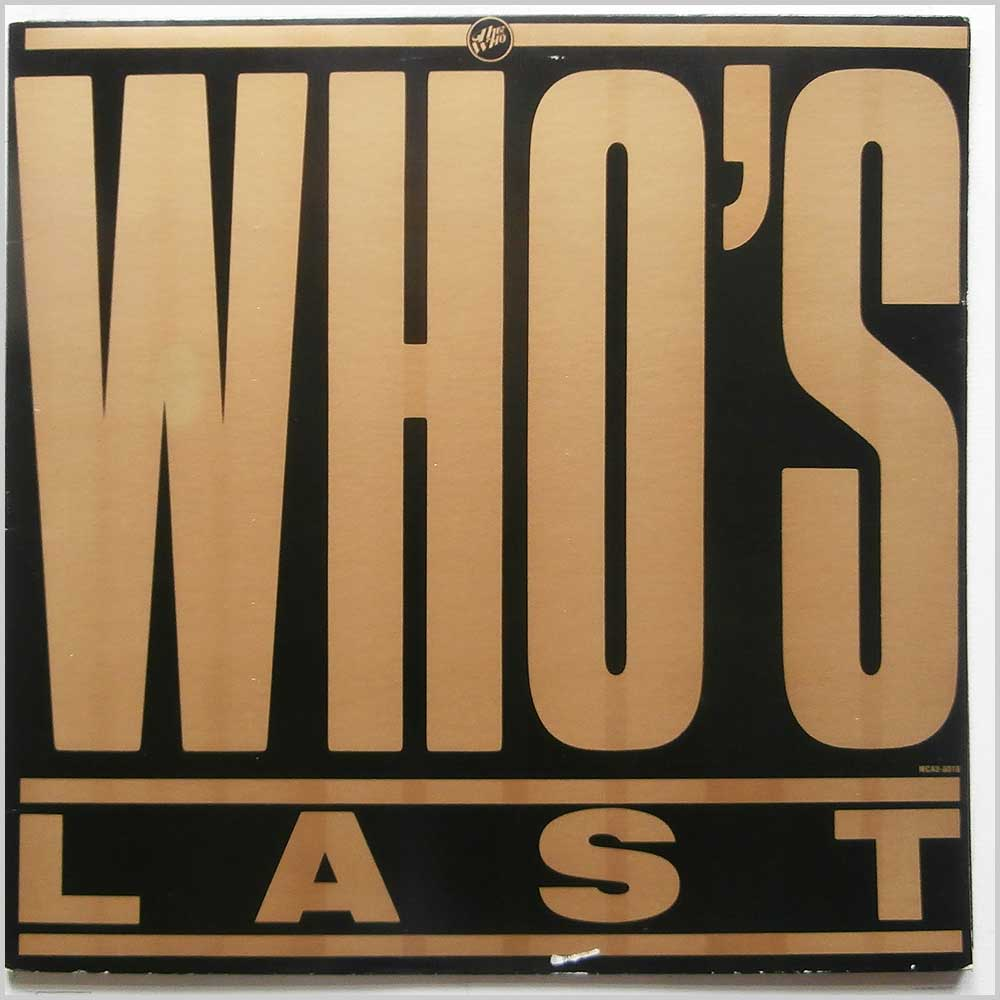The Who - Who's Last (MCA2-8018)